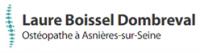 Laure BOISSEL DOMBREVAL, ostéopathe à Asnières-sur-Seine